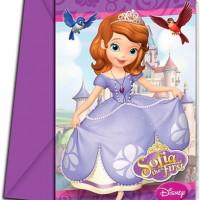 Prinses Sofia uitnodigingen