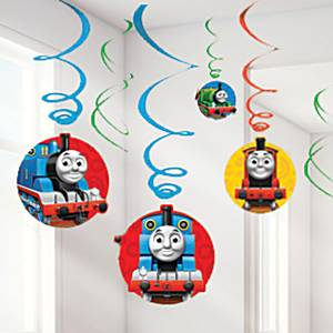 Thomas de Trein swirls hangende decoratie