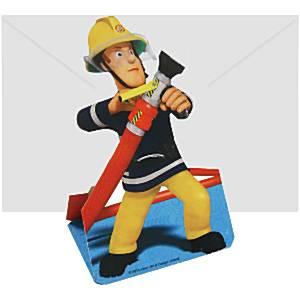 Brandweerman-Sam-Party-uitnodigingen