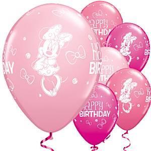 Minnie-Mouse-ballonnen