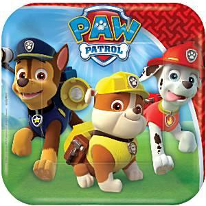 Paw-Patrol-bordjes