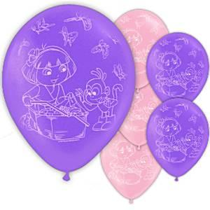 dora-ballonnen 6 stuks