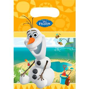 Disney Frozen Olaf uitdeelzakjes 6 stuks