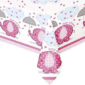 umbrellaphants roze tafelkleed