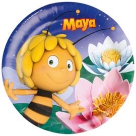 Maya de Bij papieren bordjes 8 stuks