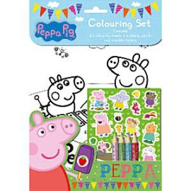 Peppa Pig 26 delige kleurset