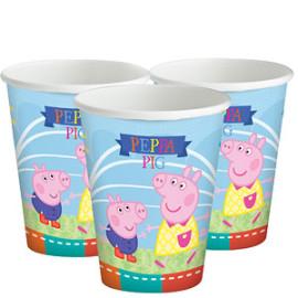 Peppa Pig bekertjes 8 stuks